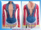 Suit for art gymnastics The article № 4951 Sizes: Growth of 126-136 centimeters - www.artdemi.ru