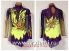 Dress (Suit) for figure ice skating  The article № 5310 Sizes: Growth of 126-132 centimeters - www.artdemi.ru