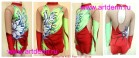 Suit for art gymnastics The article № 4550 Sizes: Growth of 117-128 centimeters - www.artdemi.ru