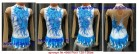 Suit for art gymnastics The article № 4568 Sizes: Growth of 128-136 centimeters - www.artdemi.ru