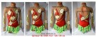 Suit for art gymnastics The article № 4598 Sizes: Growth of 128-136 centimeters - www.artdemi.ru