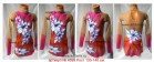Suit for art gymnastics The article № 4599 Sizes: Growth of 130-140 centimeters - www.artdemi.ru
