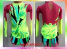 Suit for art gymnastics The article № 5133 Sizes: Growth of 115-120 centimeters - www.artdemi.ru