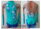 Suit for art gymnastics The article № 5136 Sizes: Growth of 115-125 centimeters - www.artdemi.ru