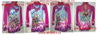 Suit for art gymnastics  The article № 001335 Size: the Sizes: Growth of 106-114 centimeters  - www.artdemi.ru