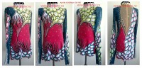 Suit for art gymnastics The art № 1219 Sizes: Growth of 155-165 centimeters  - www.artdemi.ru