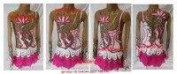 Suit for art gymnastics The article № 004544 Sizes: growth of 140-147 centimeters  - www.artdemi.ru
