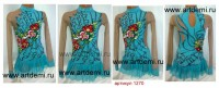 Suit for art gymnastics The art № 001270 Sizes: Growth of 125-132 centimeters - www.artdemi.ru