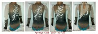 Suit for art gymnastics The article 1338 Sizes: growth of 116-122 centimeters  - www.artdemi.ru