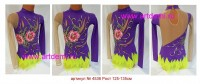 Suit for art gymnastics The article № 4536 Sizes: Growth of 125-135 centimeters  - www.artdemi.ru