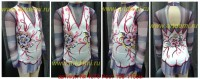 Suit for art gymnastics The article № 4570 Sizes: Growth of 105-115 centimeters - www.artdemi.ru