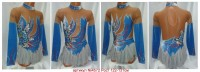 Suit for art gymnastics The article № 4572 Sizes: Growth of 122-131 centimeters - www.artdemi.ru