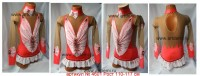 Suit for art gymnastics The article № 4601 Sizes: Growth of 110-117 centimeters - www.artdemi.ru