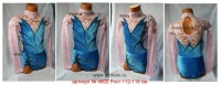 Suit for art gymnastics The article № 4602 Growth of 112-118 centimeters - www.artdemi.ru