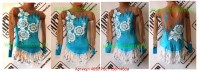 Bathing suit for art gymnastics The article 4658 Sizes: Growth of 136-146 centimeters - www.artdemi.ru