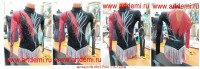 Suit for art gymnastics The article № 4915 Sizes: Growth 115-123 centimeters - www.artdemi.ru