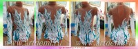 Suit for art gymnastics The art № 4956 Sizes: Growth of 116-126 centimeters - www.artdemi.ru