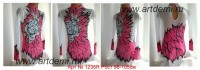 Suit for art gymnastics The art № 1236R Sizes: Growth of 98-105 centimeters  - www.artdemi.ru