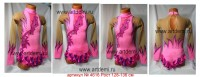 Suit for art gymnastics The article № 4616 Sizes: Growth of 128-136 centimeters - www.artdemi.ru