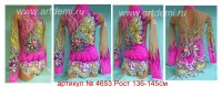 Bathing suit for art gymnastics The article № 4653 Sizes: Growth of 136-145 centimeters  - www.artdemi.ru